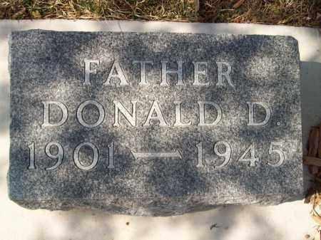 DORWARD, DONALD D - Tazewell County, Illinois   DONALD D DORWARD - Illinois Gravestone Photos