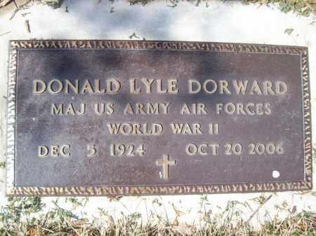 DORWARD, DONALD LYLE - Tazewell County, Illinois | DONALD LYLE DORWARD - Illinois Gravestone Photos