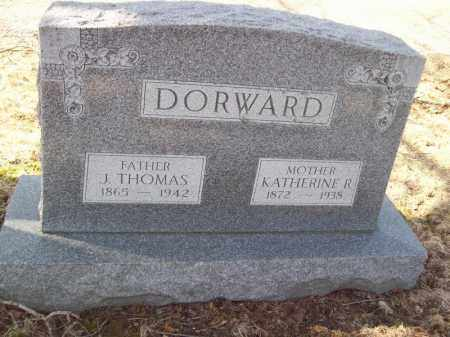 DORWARD, KATHERINE R - Tazewell County, Illinois | KATHERINE R DORWARD - Illinois Gravestone Photos