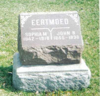 EERTMOED, SOPHIA M - Tazewell County, Illinois | SOPHIA M EERTMOED - Illinois Gravestone Photos