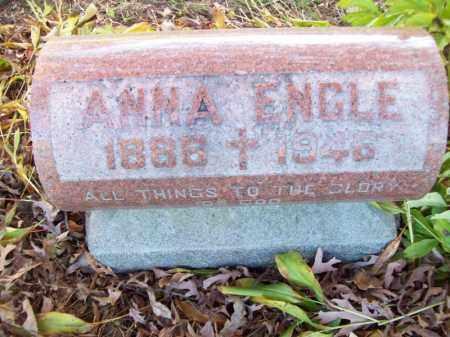 ENGLE, ANNA - Tazewell County, Illinois   ANNA ENGLE - Illinois Gravestone Photos
