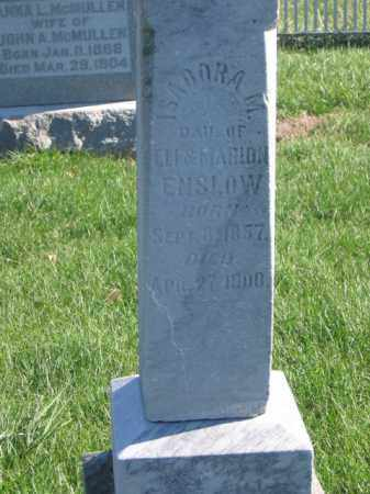 ENSLOW, ISADORA M - Tazewell County, Illinois | ISADORA M ENSLOW - Illinois Gravestone Photos
