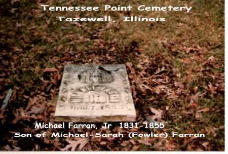 FARRAN, JR, MICHAEL - Tazewell County, Illinois | MICHAEL FARRAN, JR - Illinois Gravestone Photos