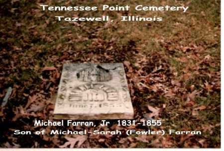 FARRAN, JR, MICHAEL - Tazewell County, Illinois | MICHAEL FARRAN, JR - Illinois Gravestone Photos