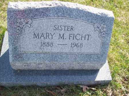 FICHT, MARY M - Tazewell County, Illinois | MARY M FICHT - Illinois Gravestone Photos