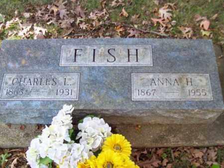 FISH, ANNA H - Tazewell County, Illinois | ANNA H FISH - Illinois Gravestone Photos
