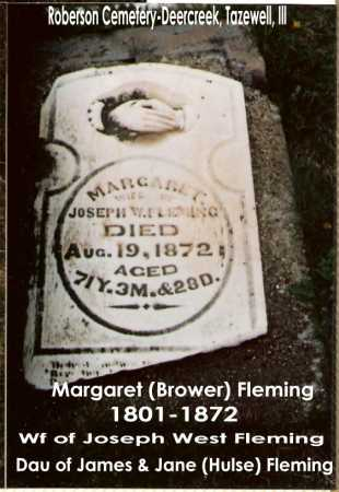 FLEMING, MARGARET - Tazewell County, Illinois | MARGARET FLEMING - Illinois Gravestone Photos