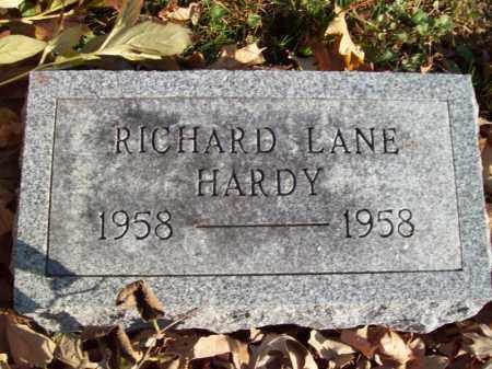 HARDY, RICHARD LANE - Tazewell County, Illinois | RICHARD LANE HARDY - Illinois Gravestone Photos