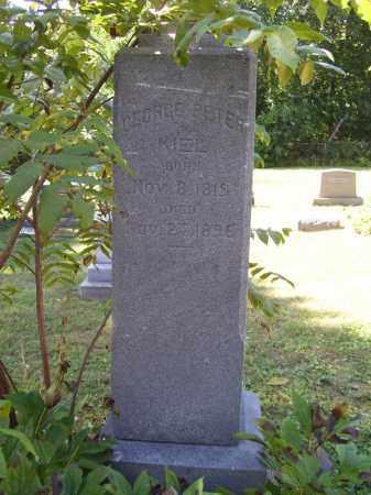 KIEL, GEORGE PETER - Tazewell County, Illinois | GEORGE PETER KIEL - Illinois Gravestone Photos