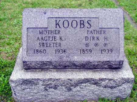 KOOBS, DIRK H - Tazewell County, Illinois | DIRK H KOOBS - Illinois Gravestone Photos
