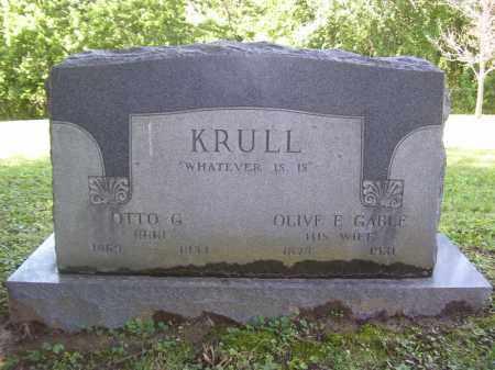 KRULL, OLIVE E - Tazewell County, Illinois | OLIVE E KRULL - Illinois Gravestone Photos
