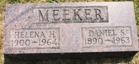 MEEKER, DANIEL S. - Tazewell County, Illinois | DANIEL S. MEEKER - Illinois Gravestone Photos