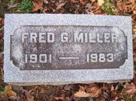 MILLER, FRED G - Tazewell County, Illinois | FRED G MILLER - Illinois Gravestone Photos