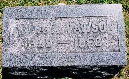 ARMSTRONG PAWSON, ANNA MAE - Tazewell County, Illinois | ANNA MAE ARMSTRONG PAWSON - Illinois Gravestone Photos