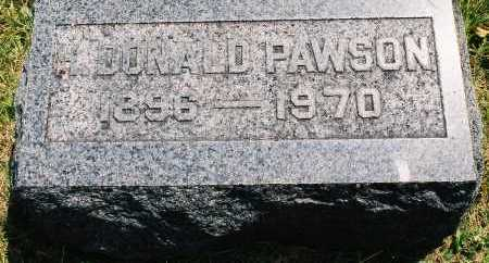 PAWSON, HENRY DONALD - Tazewell County, Illinois | HENRY DONALD PAWSON - Illinois Gravestone Photos