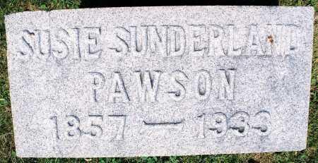 PAWSON, SUSIE THOMAS - Tazewell County, Illinois | SUSIE THOMAS PAWSON - Illinois Gravestone Photos