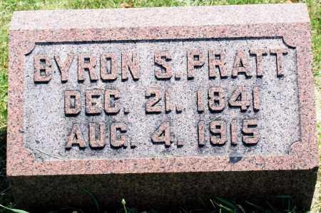 PRATT, BYRON S. - Tazewell County, Illinois | BYRON S. PRATT - Illinois Gravestone Photos