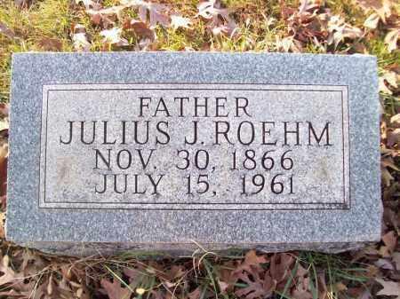 ROEHM, JULIUS J - Tazewell County, Illinois | JULIUS J ROEHM - Illinois Gravestone Photos