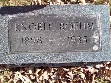 ROEHM, KNOBLE - Tazewell County, Illinois | KNOBLE ROEHM - Illinois Gravestone Photos