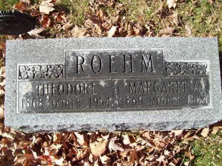 ROEHM, MARGARET A - Tazewell County, Illinois | MARGARET A ROEHM - Illinois Gravestone Photos