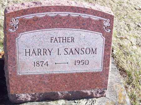 SANSOM, HARRY I - Tazewell County, Illinois   HARRY I SANSOM - Illinois Gravestone Photos