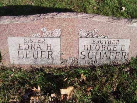 SCHAFER, GEORGE E - Tazewell County, Illinois | GEORGE E SCHAFER - Illinois Gravestone Photos