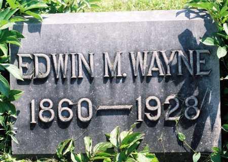 WAYNE, EDWIN MEAD - Tazewell County, Illinois | EDWIN MEAD WAYNE - Illinois Gravestone Photos