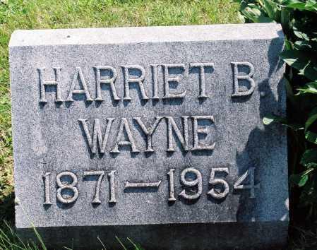WAYNE, HARRIET (HATTIE HAZEN) - Tazewell County, Illinois   HARRIET (HATTIE HAZEN) WAYNE - Illinois Gravestone Photos