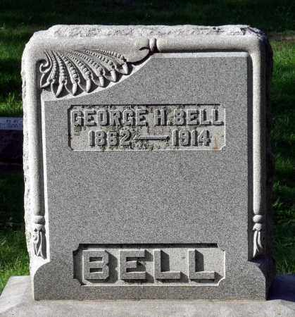 BELL, GEORGE H. - Vermilion County, Illinois | GEORGE H. BELL - Illinois Gravestone Photos