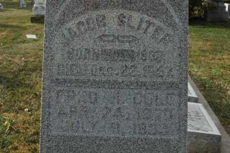 SLITER, JACOB - Whiteside County, Illinois | JACOB SLITER - Illinois Gravestone Photos