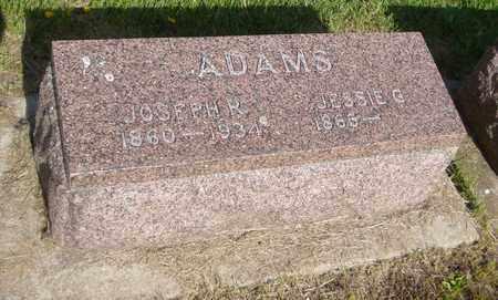 ADAMS, JOSEPH H. - Will County, Illinois   JOSEPH H. ADAMS - Illinois Gravestone Photos