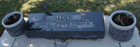 ALDEN, JOHN L. - Will County, Illinois   JOHN L. ALDEN - Illinois Gravestone Photos