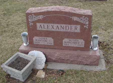 ALEXANDER, MARGARET T. - Will County, Illinois | MARGARET T. ALEXANDER - Illinois Gravestone Photos