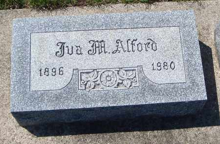 ALFORD, IVA M. - Will County, Illinois   IVA M. ALFORD - Illinois Gravestone Photos
