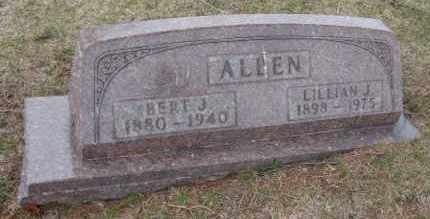 ALLEN, LILLIAN J. - Will County, Illinois | LILLIAN J. ALLEN - Illinois Gravestone Photos