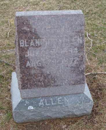ALLEN, BLANCHE - Will County, Illinois | BLANCHE ALLEN - Illinois Gravestone Photos
