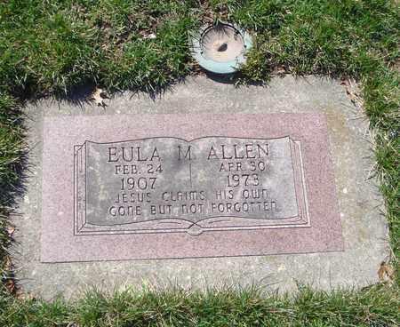 ALLEN, EULA M. - Will County, Illinois | EULA M. ALLEN - Illinois Gravestone Photos