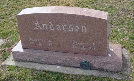 ANDERSEN, FLORENCE B. - Will County, Illinois | FLORENCE B. ANDERSEN - Illinois Gravestone Photos