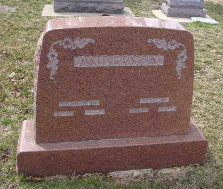 ANDERSON, AGNES M. - Will County, Illinois | AGNES M. ANDERSON - Illinois Gravestone Photos