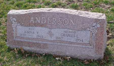 ANDERSON, CHARLES L. - Will County, Illinois | CHARLES L. ANDERSON - Illinois Gravestone Photos