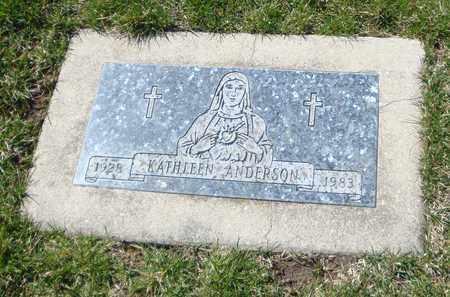 ANDERSON, KATHLEEN - Will County, Illinois | KATHLEEN ANDERSON - Illinois Gravestone Photos