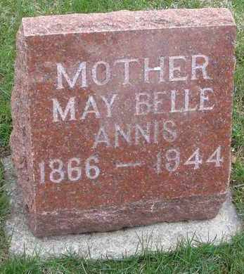 ANNIS, MAY BELLE - Will County, Illinois | MAY BELLE ANNIS - Illinois Gravestone Photos