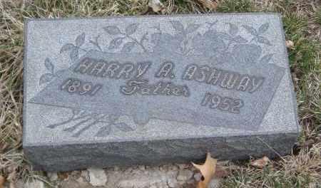 ASHWAY, HARRY A. - Will County, Illinois | HARRY A. ASHWAY - Illinois Gravestone Photos