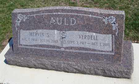 AULD, MERVIN S. - Will County, Illinois | MERVIN S. AULD - Illinois Gravestone Photos
