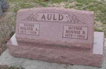 AULD, WALTER A. - Will County, Illinois | WALTER A. AULD - Illinois Gravestone Photos