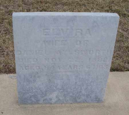 AYLSWORTH, ELVIRA - Will County, Illinois | ELVIRA AYLSWORTH - Illinois Gravestone Photos