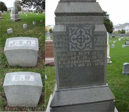 BAKER, S. - Will County, Illinois   S. BAKER - Illinois Gravestone Photos
