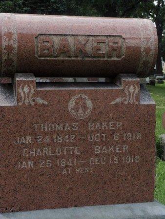 BAKER, CHARLOTTE - Will County, Illinois | CHARLOTTE BAKER - Illinois Gravestone Photos