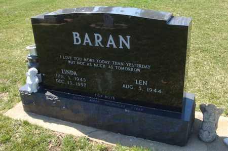 BARAN, LINDA - Will County, Illinois | LINDA BARAN - Illinois Gravestone Photos