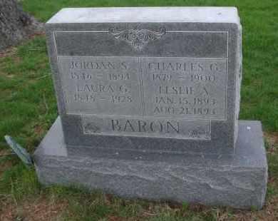 BARON, LESLIE A. - Will County, Illinois   LESLIE A. BARON - Illinois Gravestone Photos